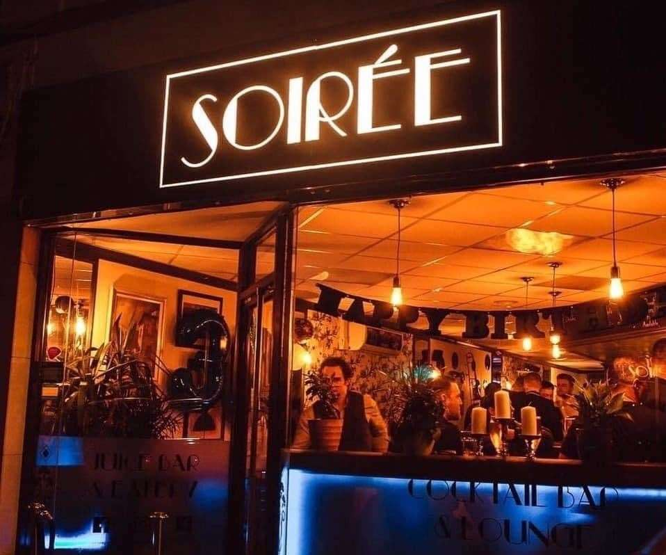 Soiree cocktail bar in Faversham is accepting cryptocurrency. Picture: Oliver Branson-Cole