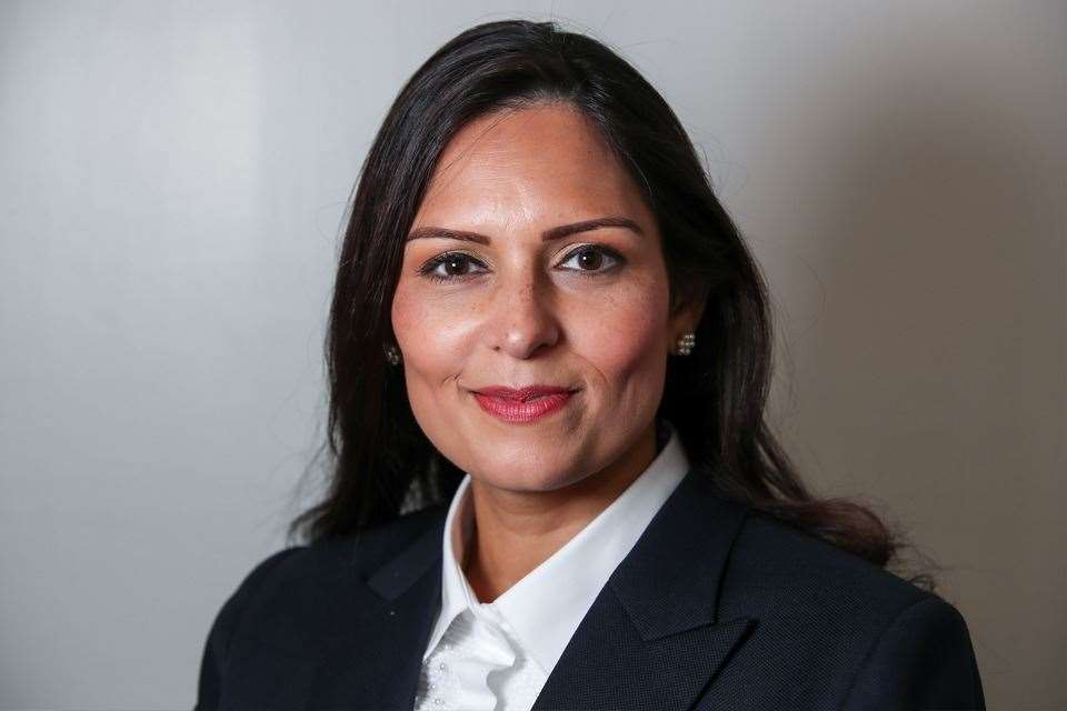The open letter is addressed to Home Secretary Priti Patel