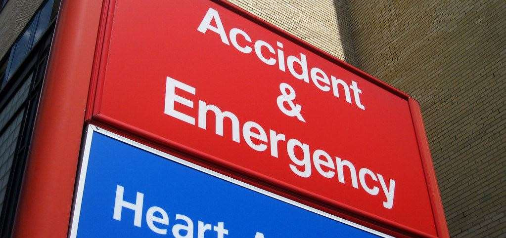 The government has a four hour target for A&E departments across the country