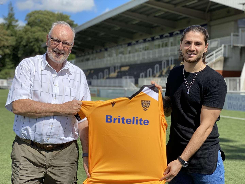 Maidstone United Sign Midfielder Kresnic Krasniqi From League Champions Wealdstone