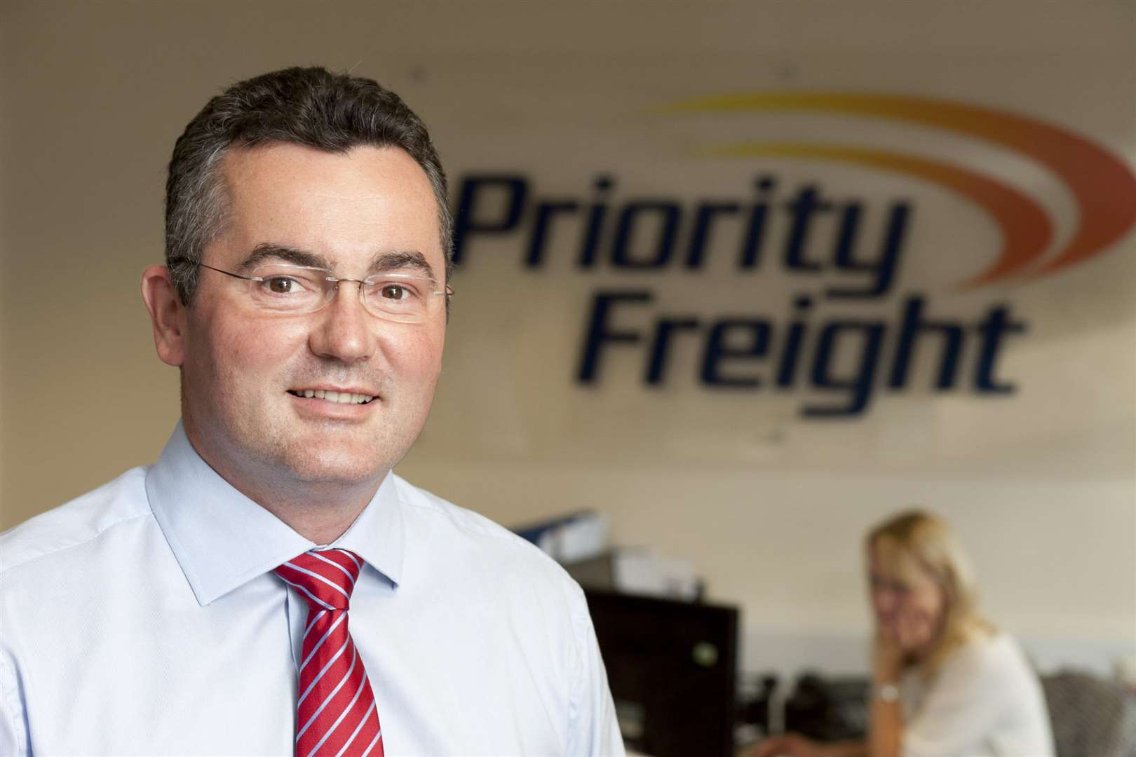 Priority Freight managing director Neal Williams