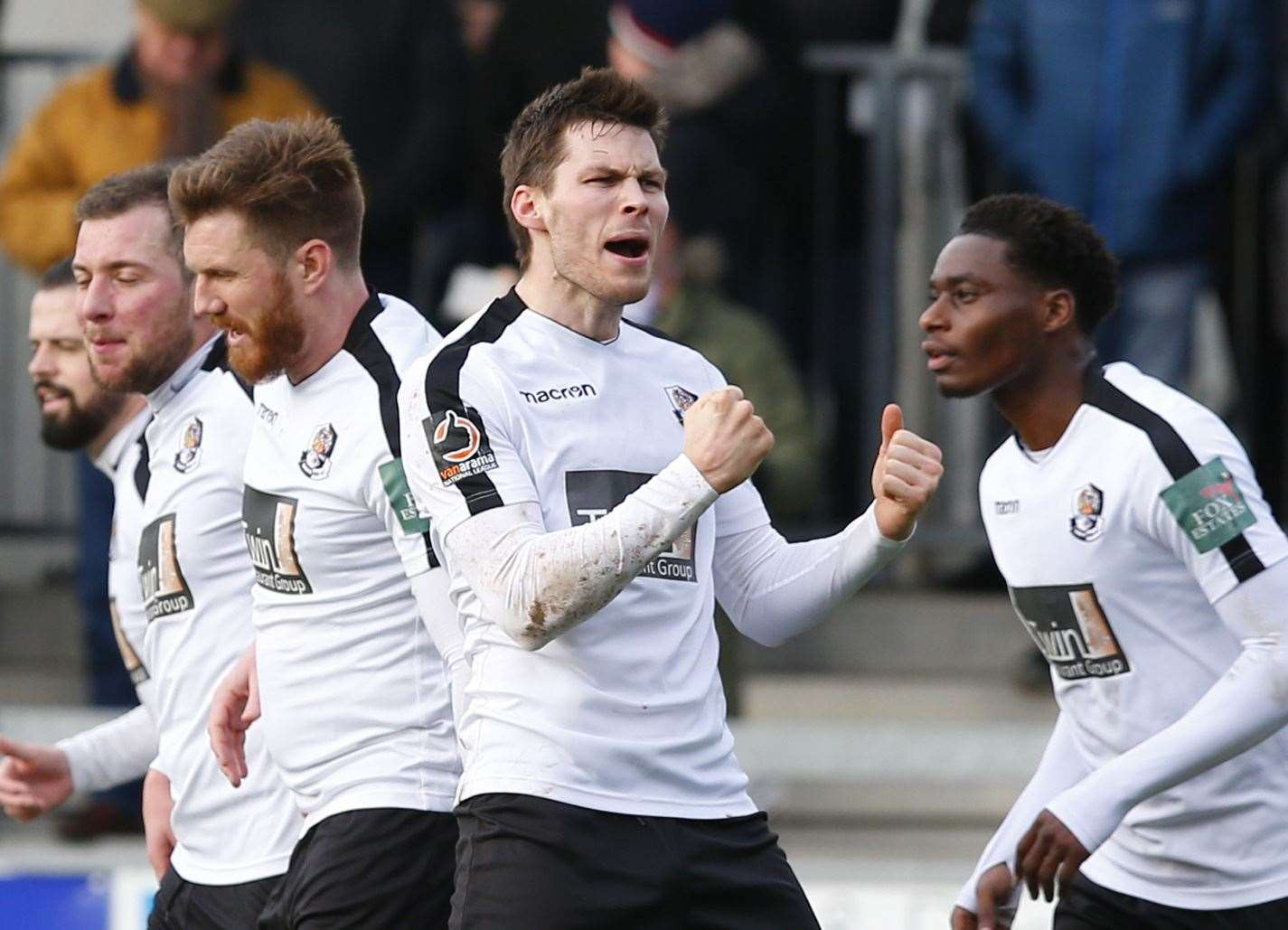 Charlie Sheringham is hoping to fire Dartford into the National League South play-offs Picture: Andy Jones