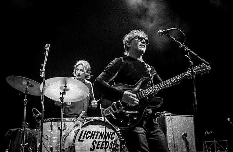 Lightning Seeds, who collaborated on the famous Three Lions song, will be on the Main Stage. (7335091)