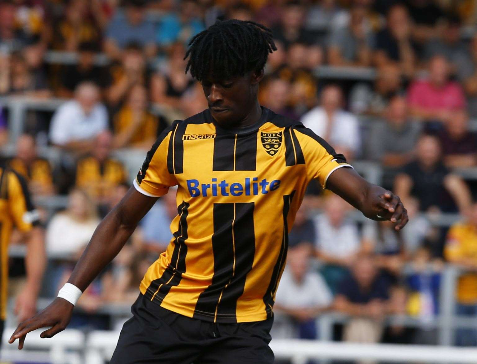 Andre Coker is free to leave Maidstone Picture: Andy Jones