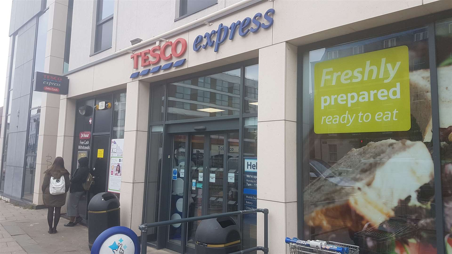 The Tesco Express in New Dover Road (12941289)