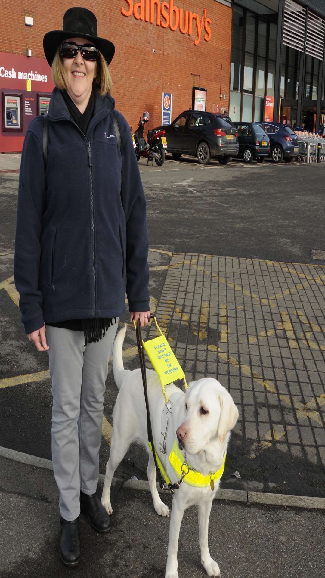Liz Sykes and Guide Dog Ulla