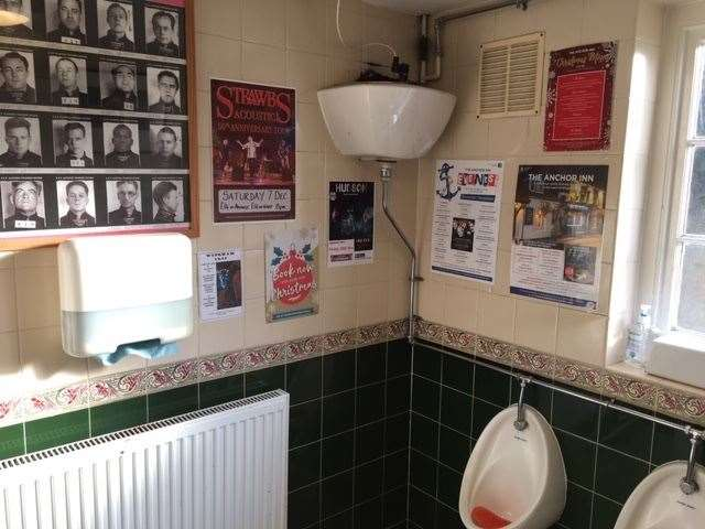 The traditional toilets are well maintained and festooned with details of events, as well as some interesting Alcatraz memorabilia