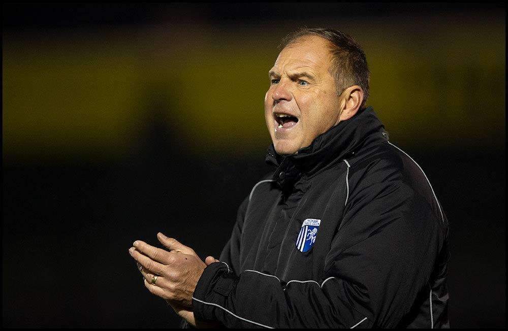 Manager Steve Lovell at Bristol Rovers Picture: Ady Kerry (5652541)