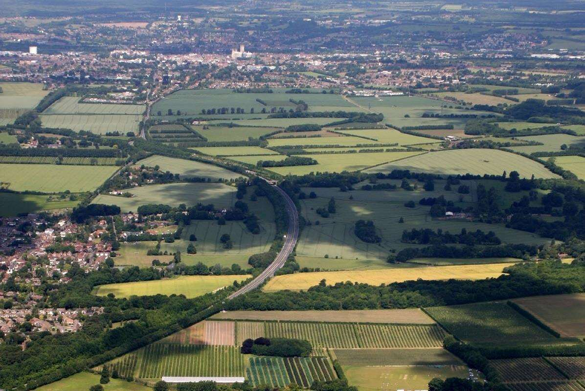 AONB land is proposed to built on