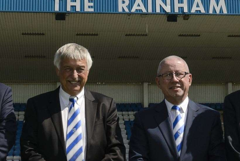 MEMS cbairman Colin Jarvis and Gills' Paul Scally have teamed up again