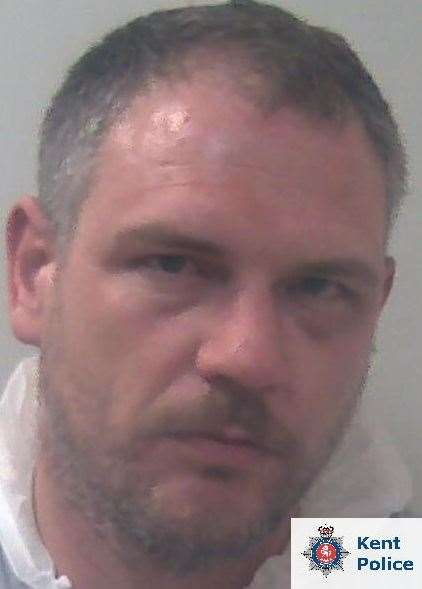 Andrew Bryant-Bell has been locked up for more than three years. Picture: Kent Police