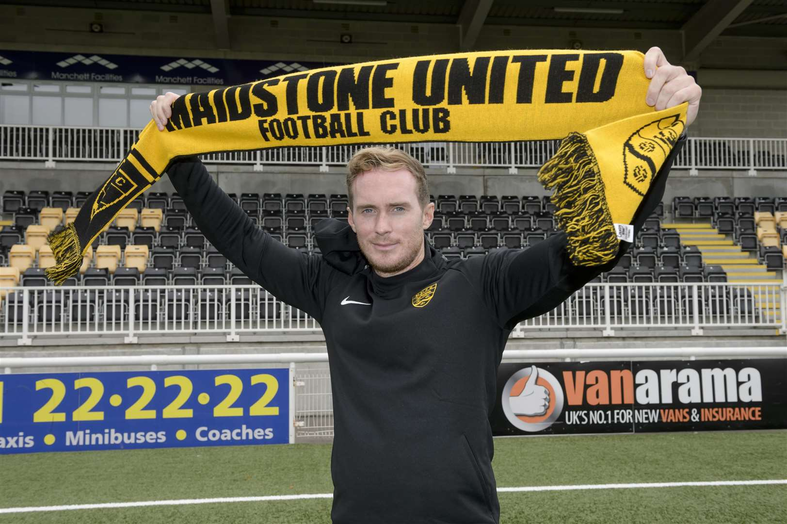 New Maidstone United manager Harry Wheeler Picture: Andy Payton
