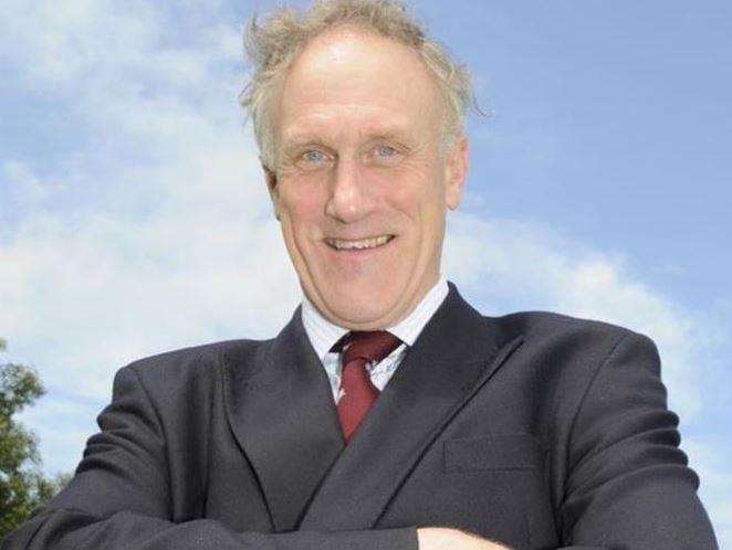 "Former Canterbury MP Julian Brazier has branded the model ""tasteless"""