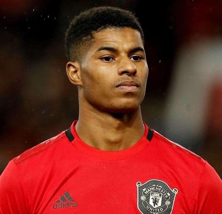 Marcus Rashford again campaigned over the free school meal provision. Photo: Martin Rickett/PA Images
