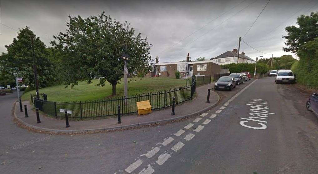 The crash happened at the junction of Chapel Lane and Mongeham Road in Ripple. Picture: Google Street View