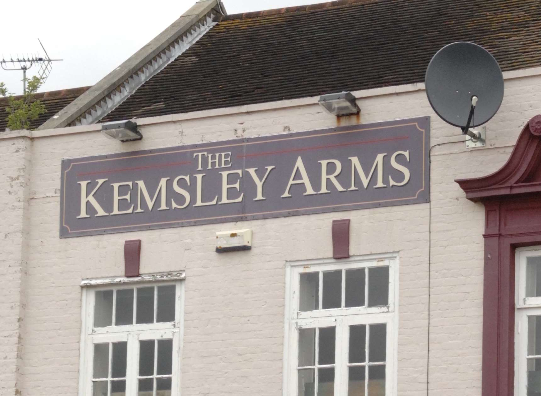 The Kemsley Arms in Kemsley, Sittingbourne. Picture: Chris Davey
