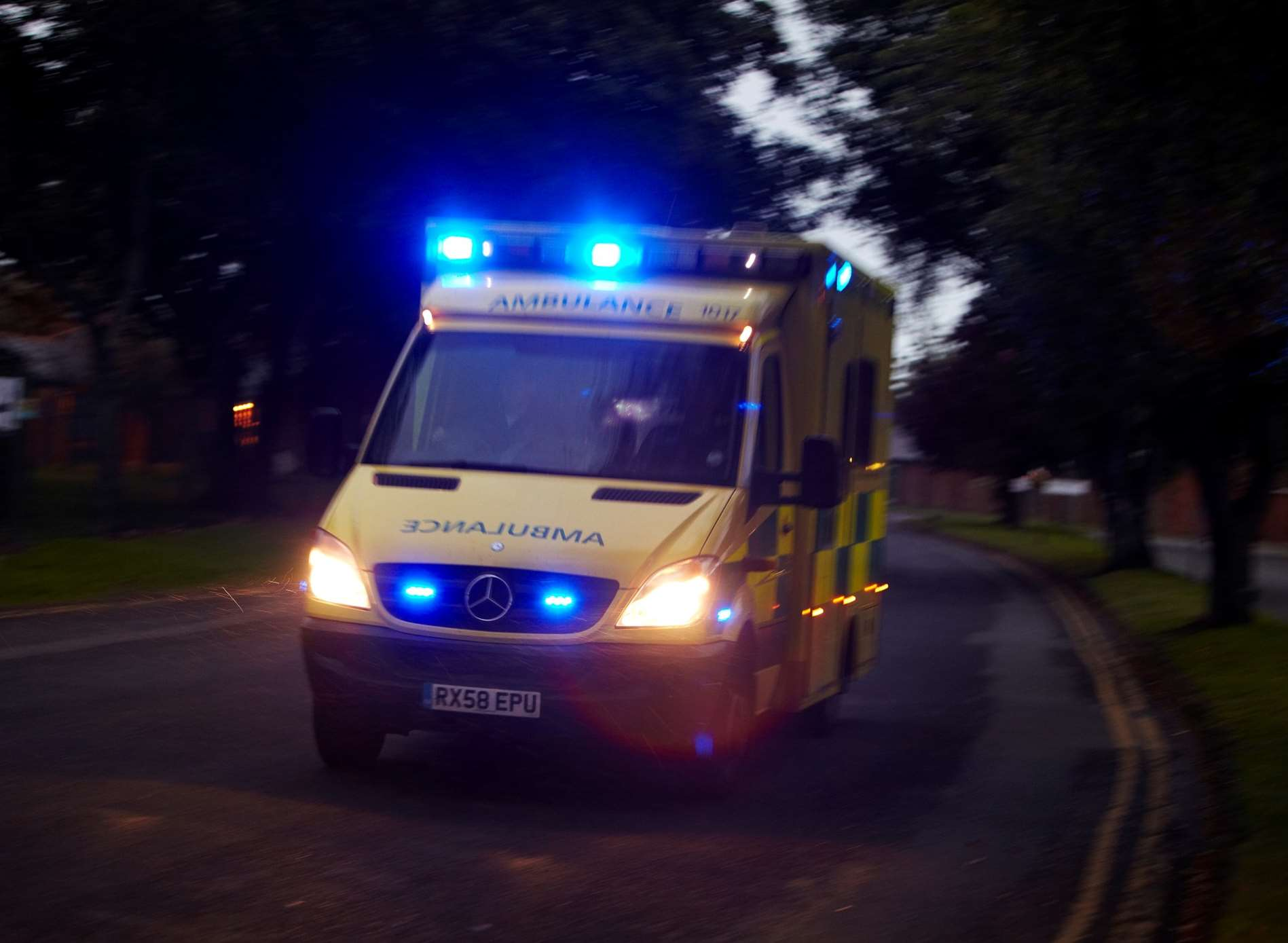 Ambulance crews were called. Stock image: SECAmb