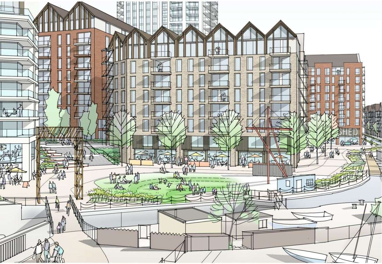 Gravesham council's planning committee is reviewing the plans. Picture: JPT / Joseph Homes