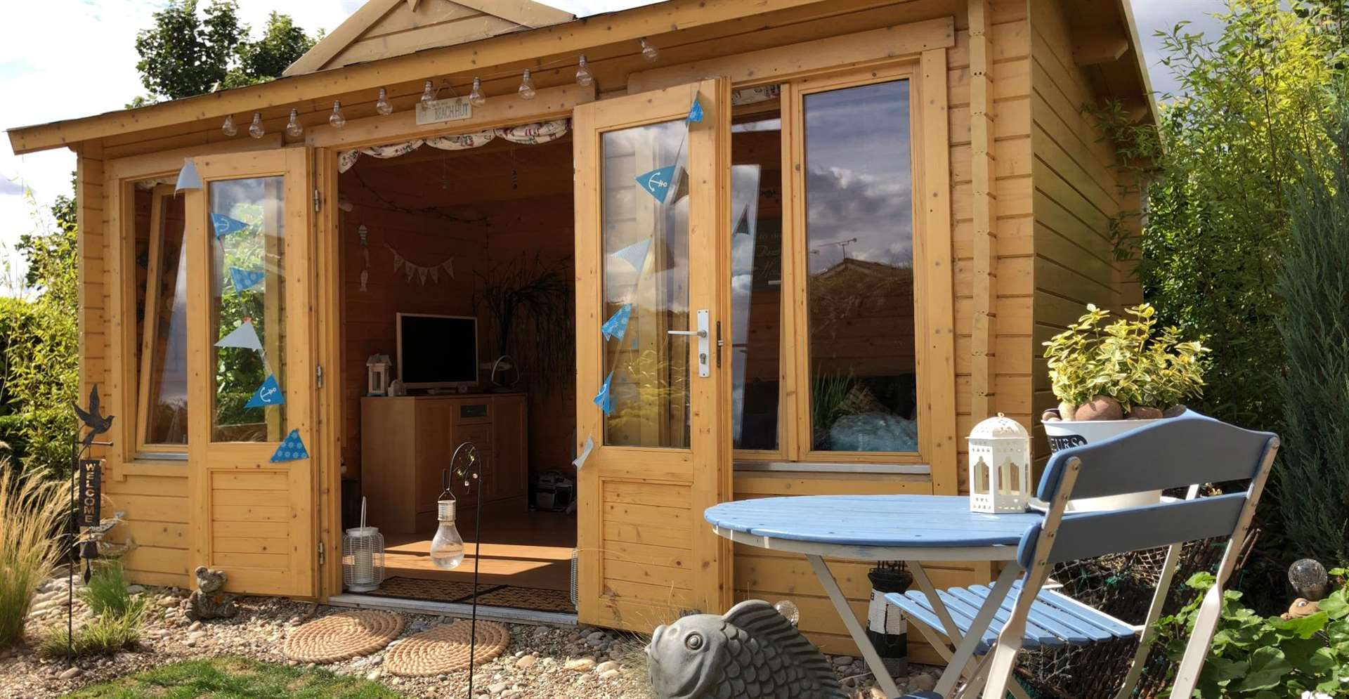 Full construction is included on all packages purchased through Johnsons Garden Buildings.