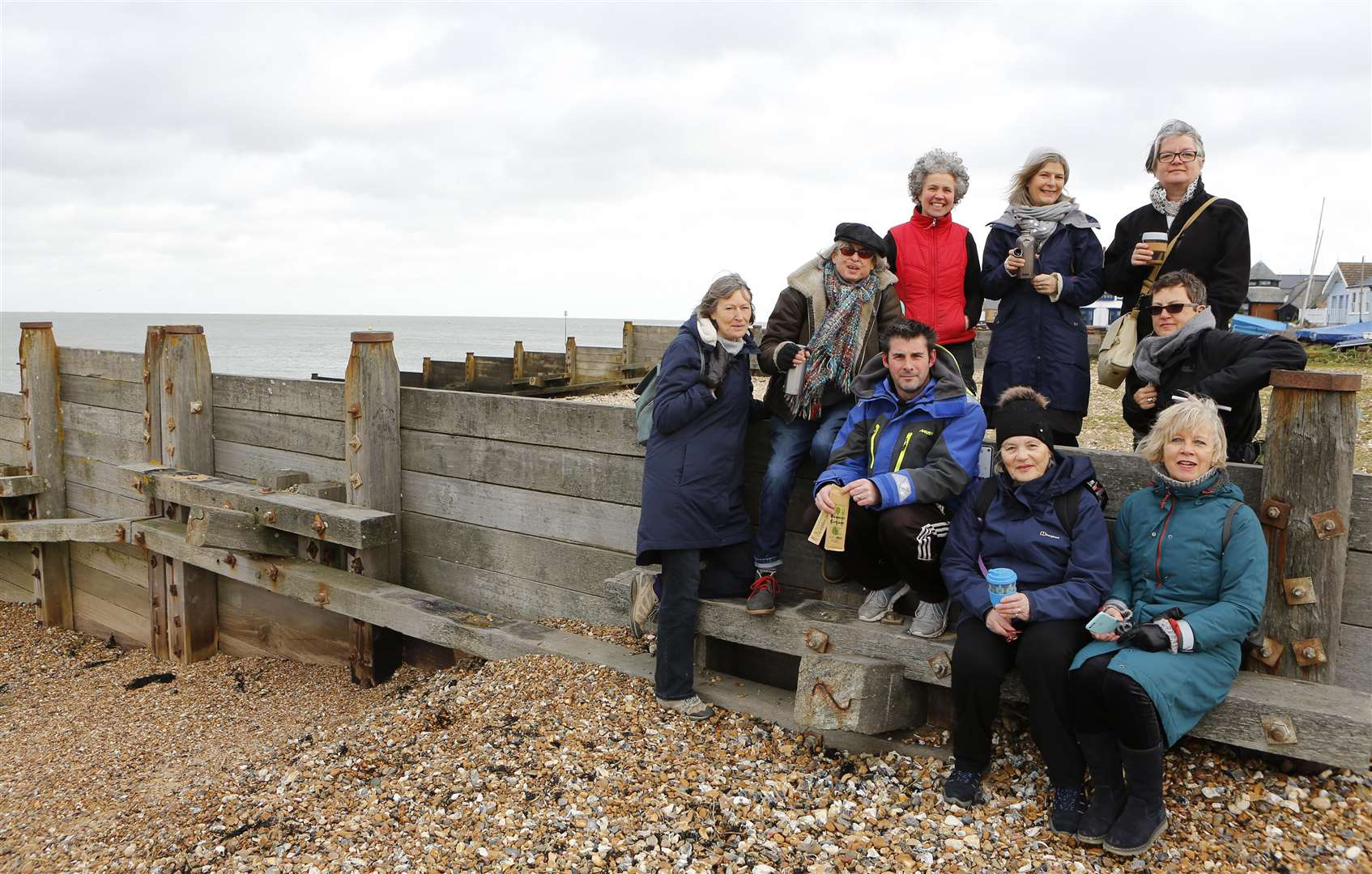 The Plastic Free Whitstable group launched in January 2018