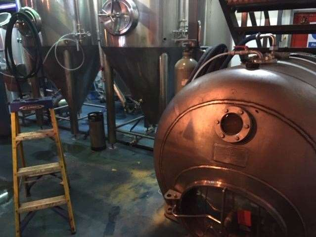 Brewing capacity at Iron Pier has recently been increased to meet demand