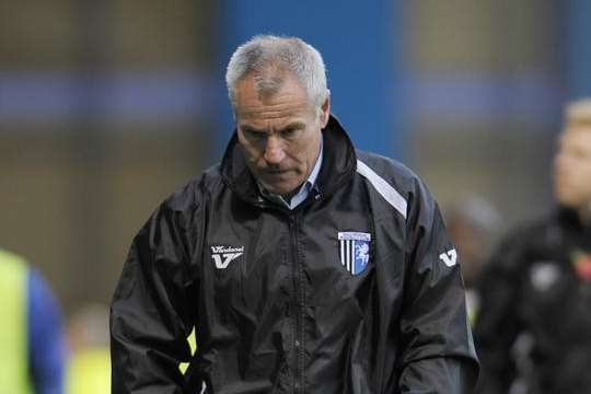 Gillingham manager Peter Taylor Picture: Barry Goodwin
