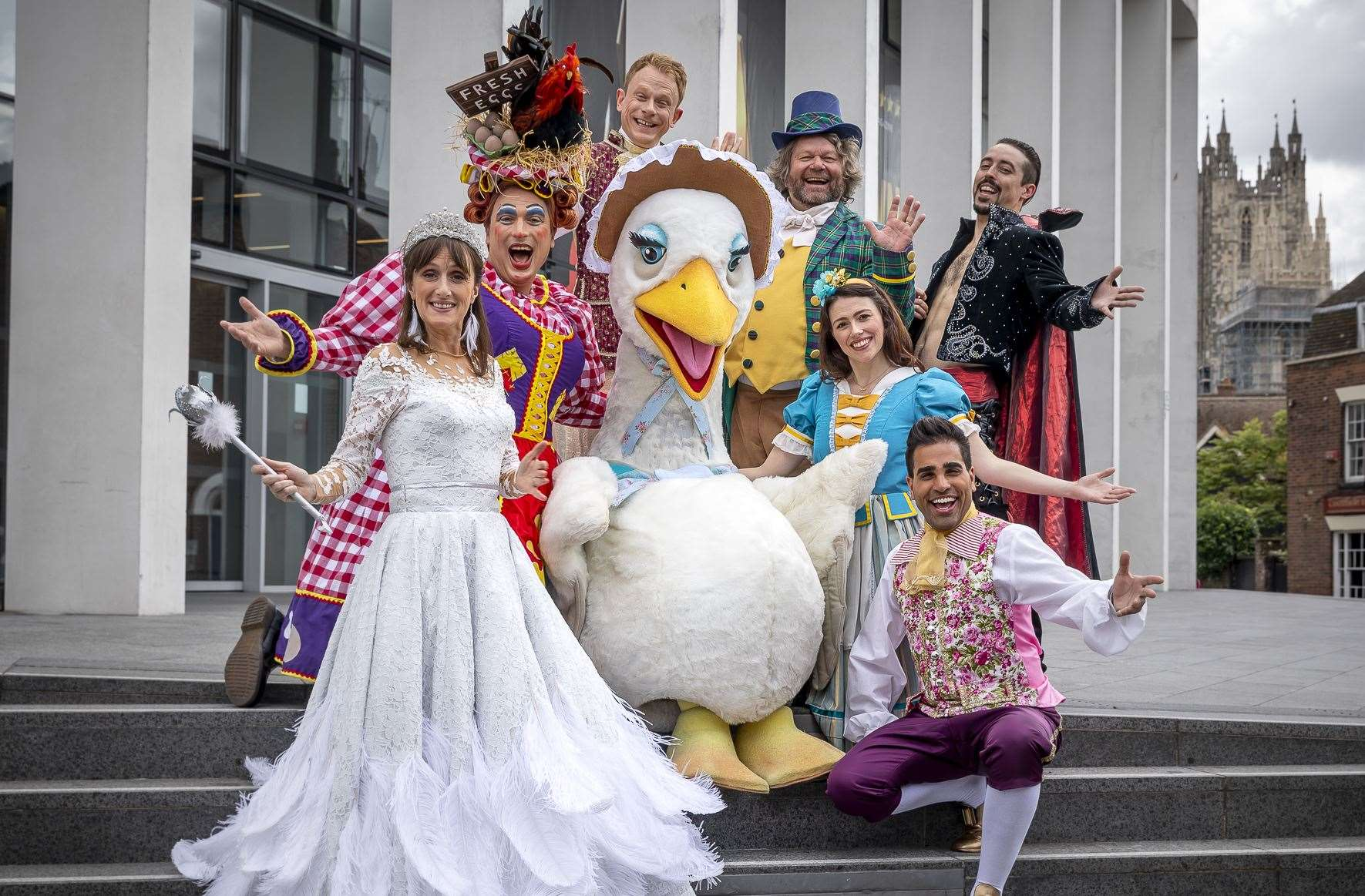 Want to join this lot on stage for Mother Goose at the Marlowe?