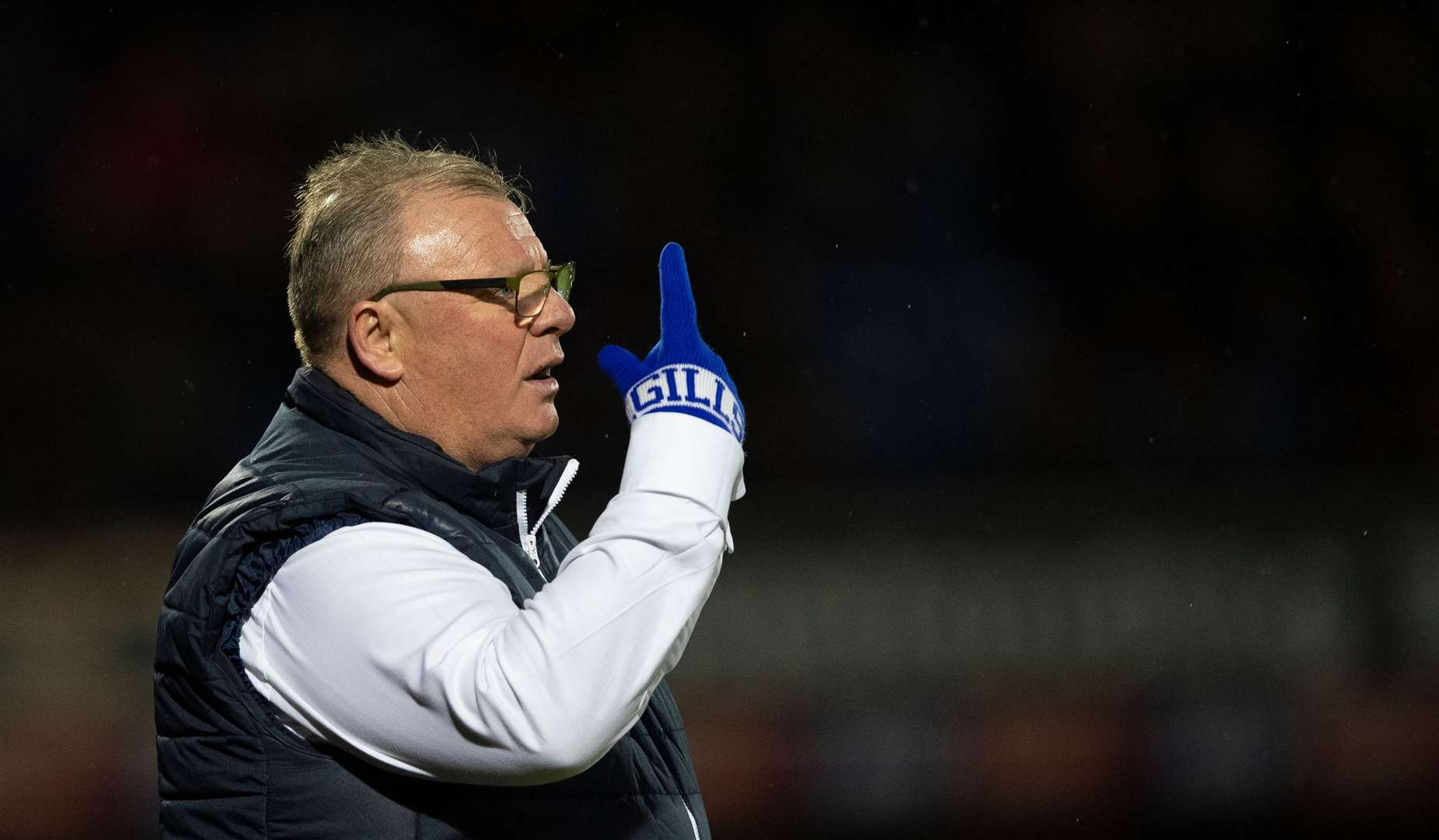 Gillingham manager Steve Evans loves a midweek fixture Picture: Ady Kerry