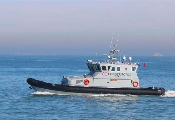 A Border Force cutter. Stock picture