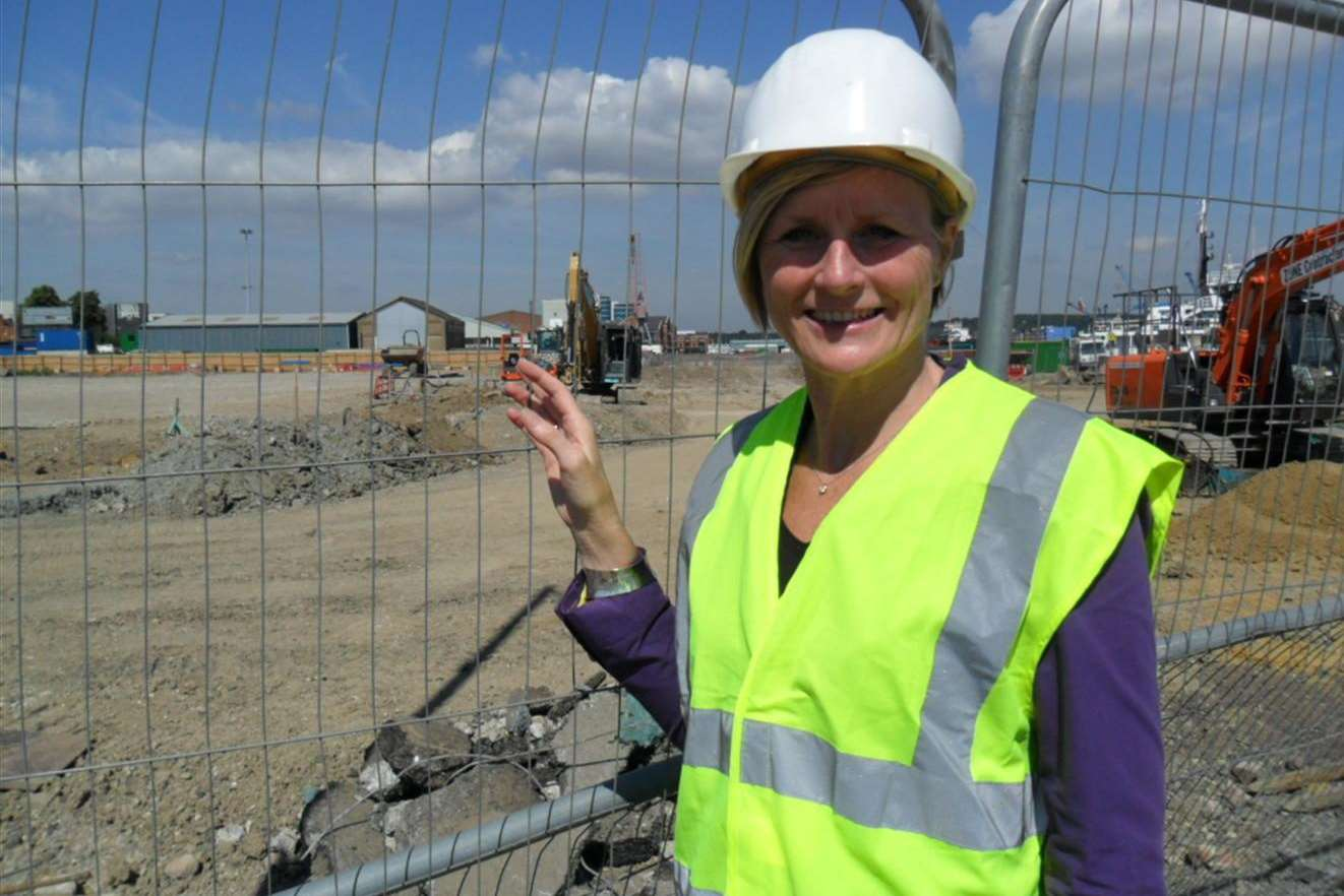 Principal Dr Karon Buck will be overseeing construction of the UTC
