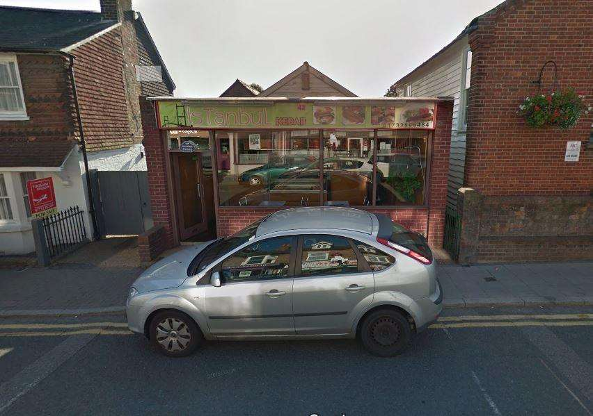 Istanbul Kebab in Edenbridge. Picture: Google Street View