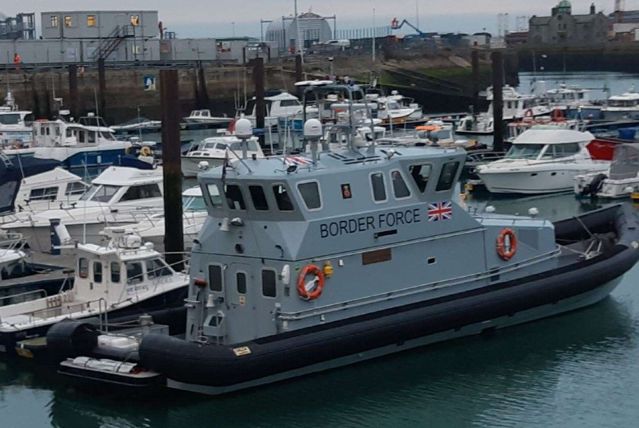 A Border Force vessel. Library image
