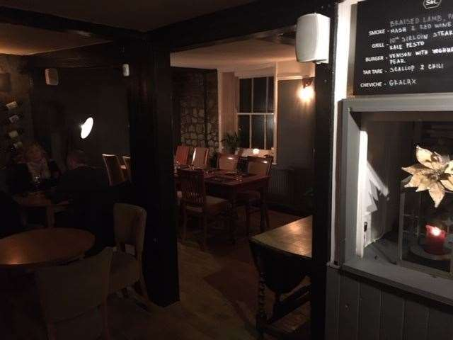Inside the pub has been completely redecorated throughout and a large area has been set aside for dining