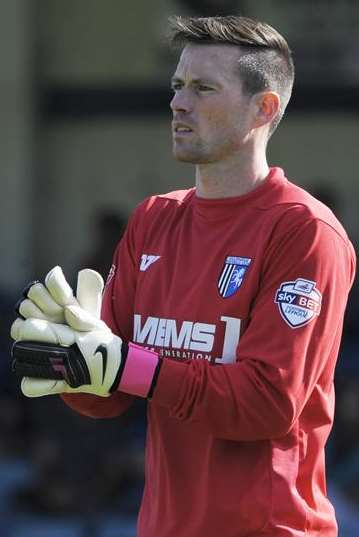 Gills keeper Stuart Nelson Picture: Barry Goodwin