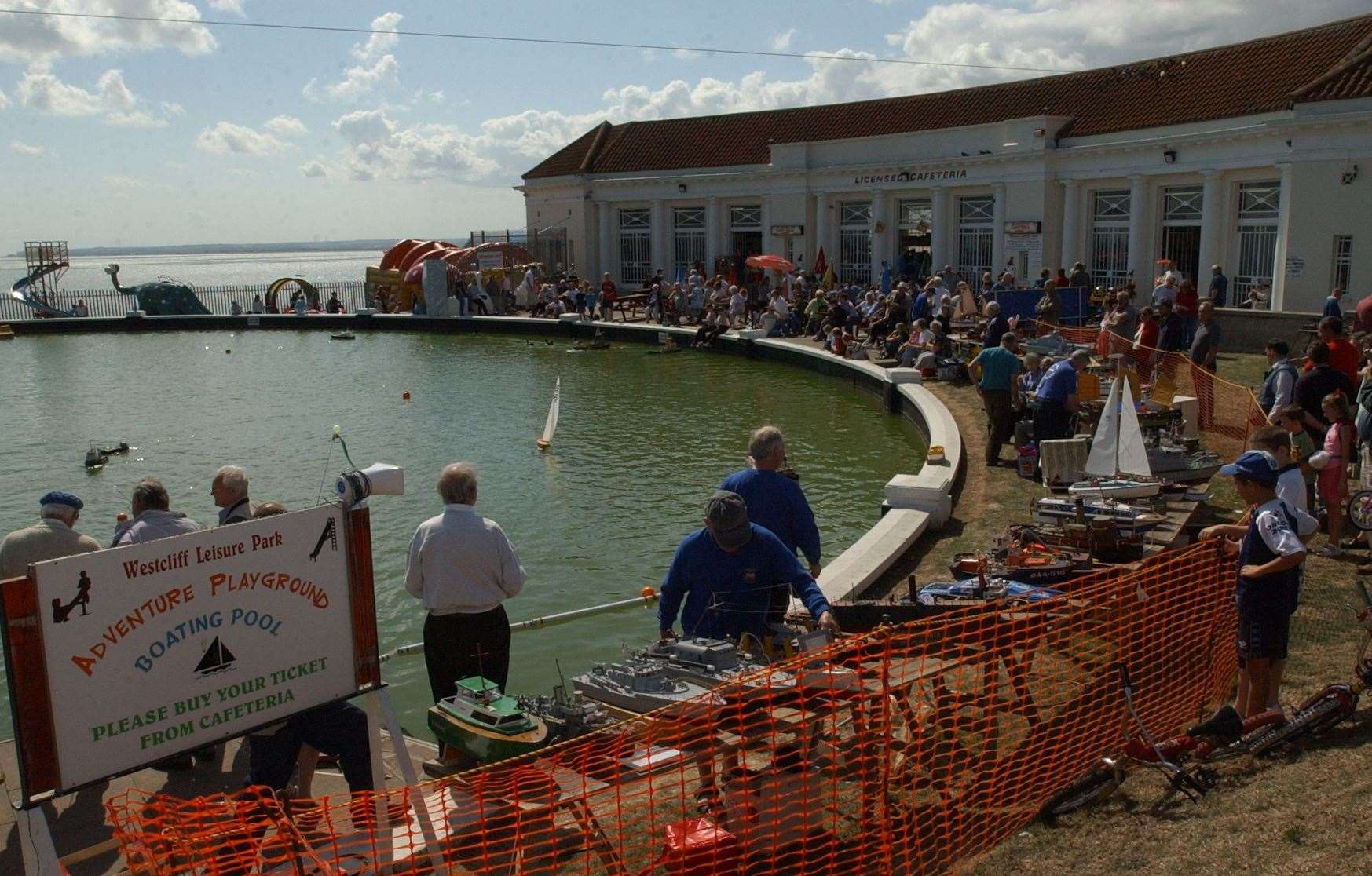 Model ship shows are held at the boating pool in Ramsgate