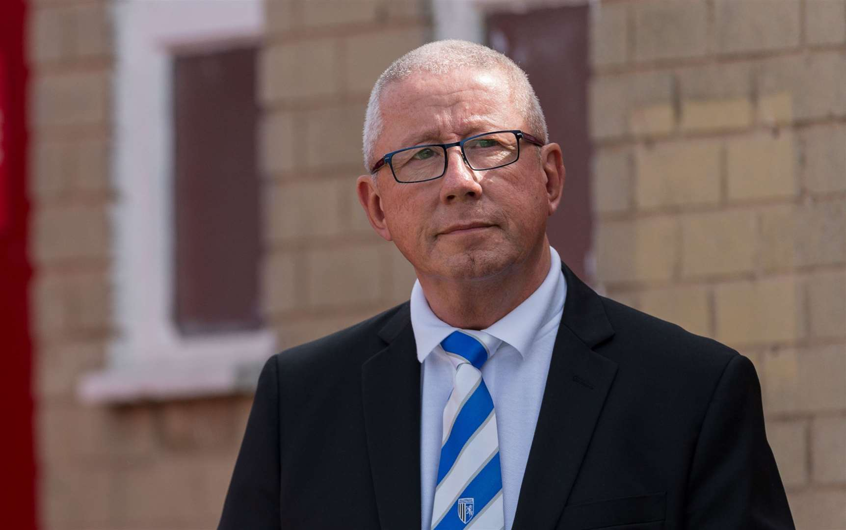 Gillingham chairman Paul Scally is doubtful the Bury game will go ahead this weekend Picture: Ady Kerry