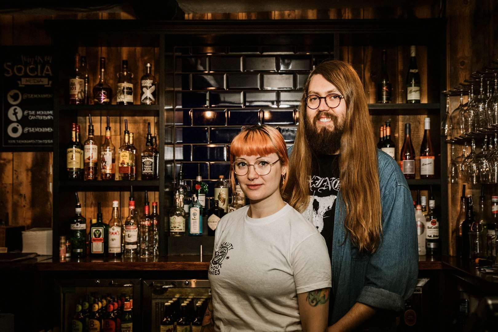 Tom Boughton and Jo Brookman have left the Monument pub