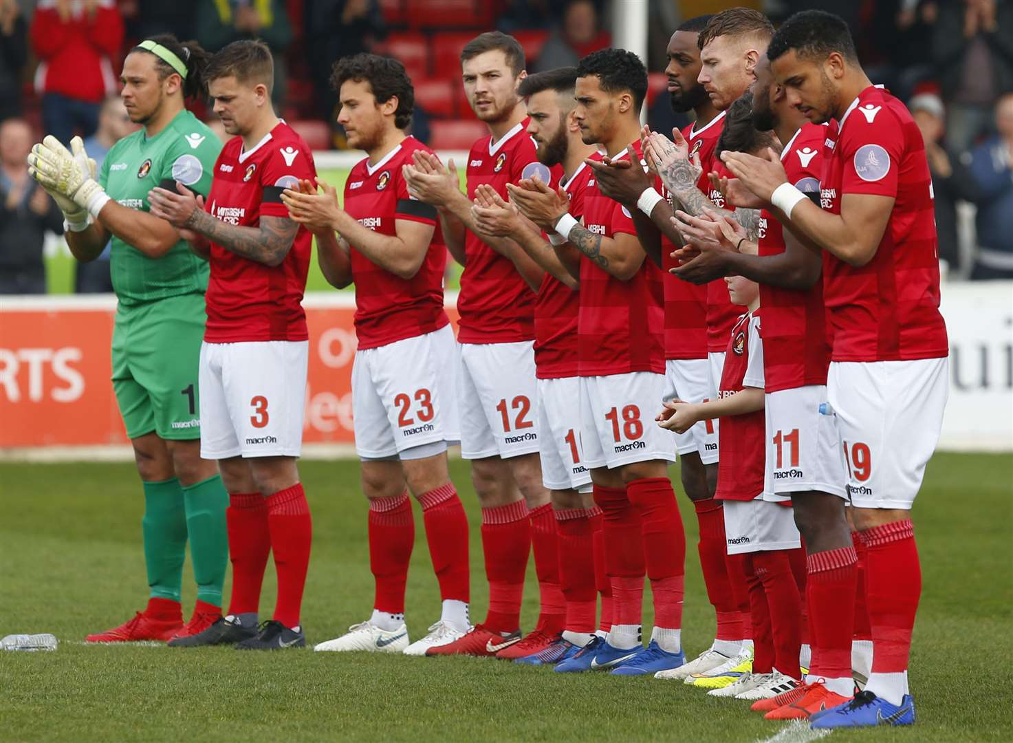 Ebbsfleet's players have not been paid on time again this month. Picture: Andy Jones