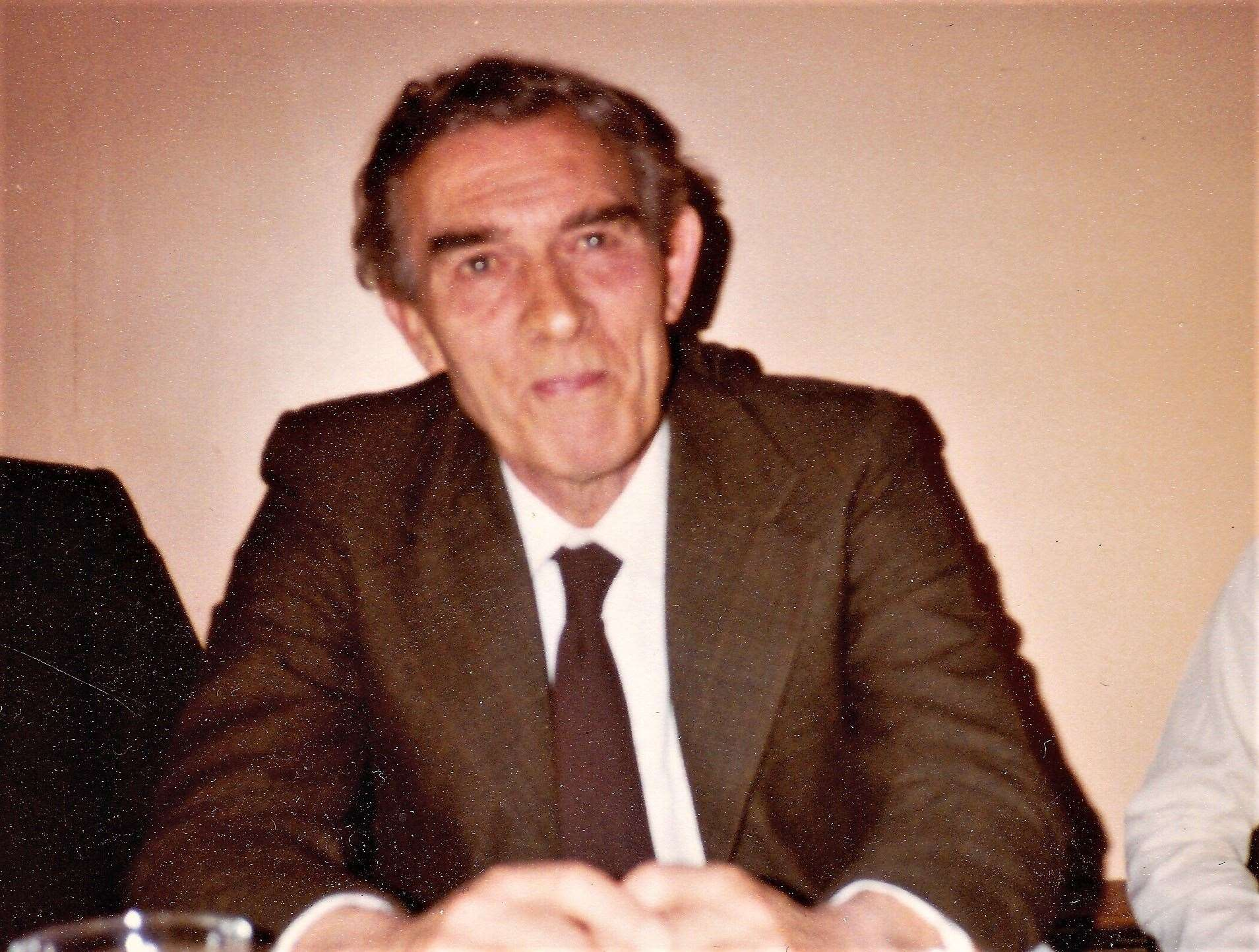 Ron pictured in 1980
