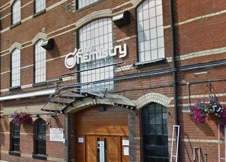 Club Chemistry in Canterbury. Picture: Instant Street View