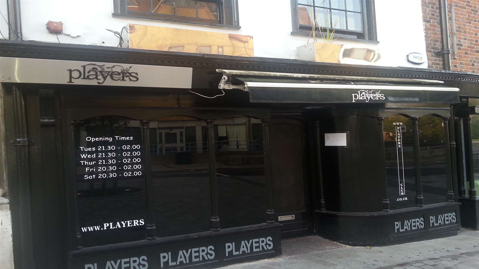Players Club in Maidstone high street