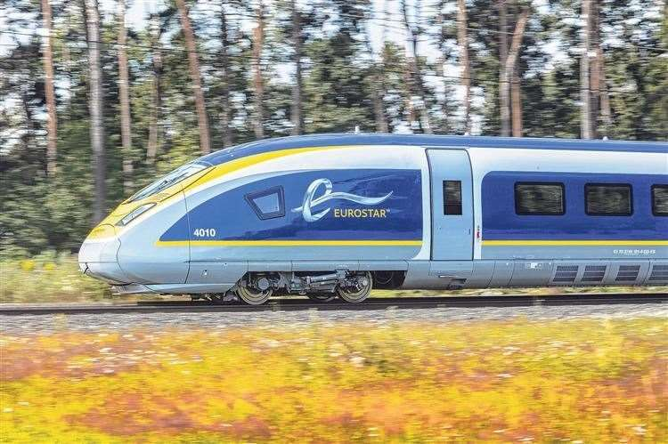 Eurostar services were hit by work to rule action by French customs staff