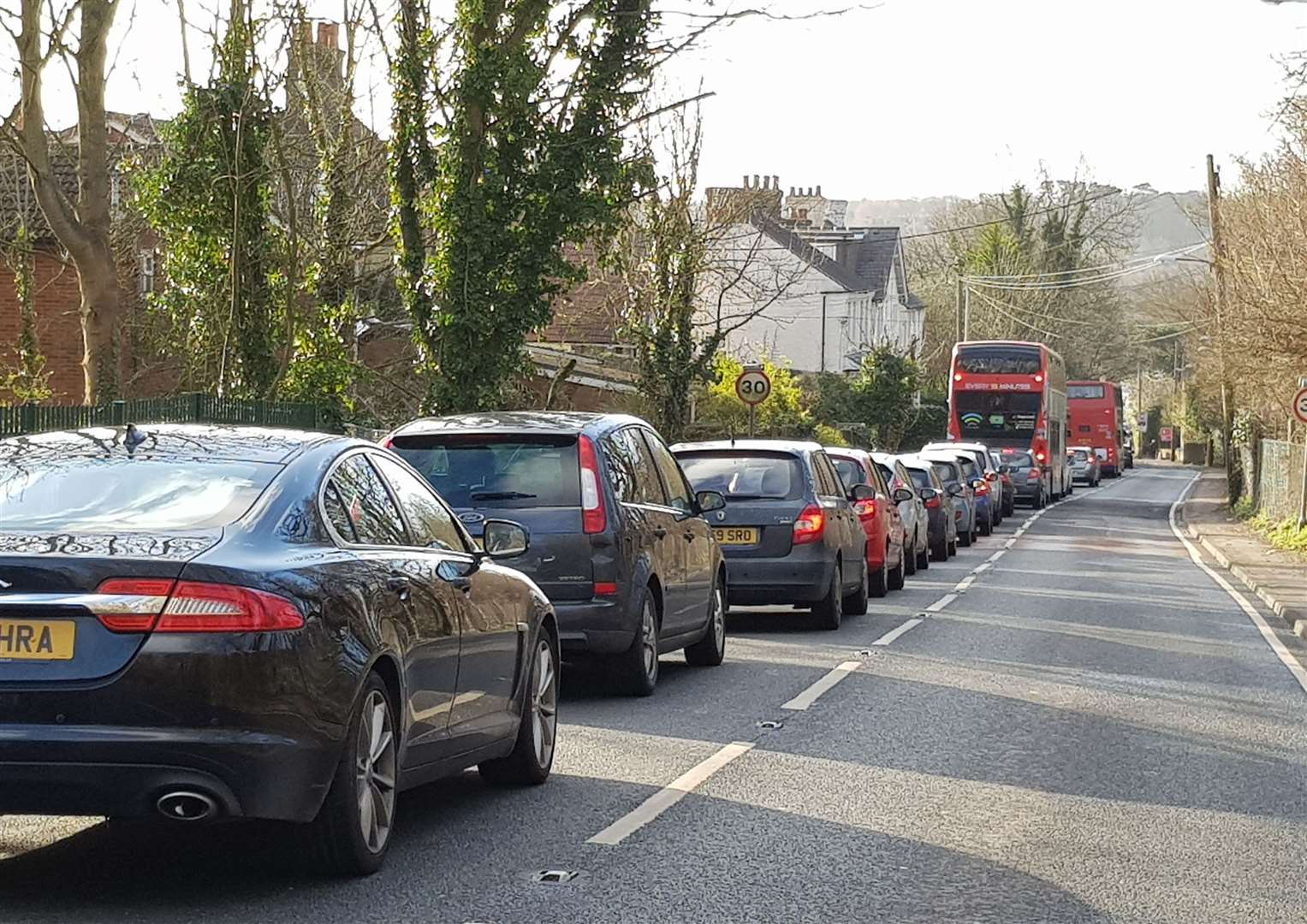 Drivers at a standstill on Sturry Hill
