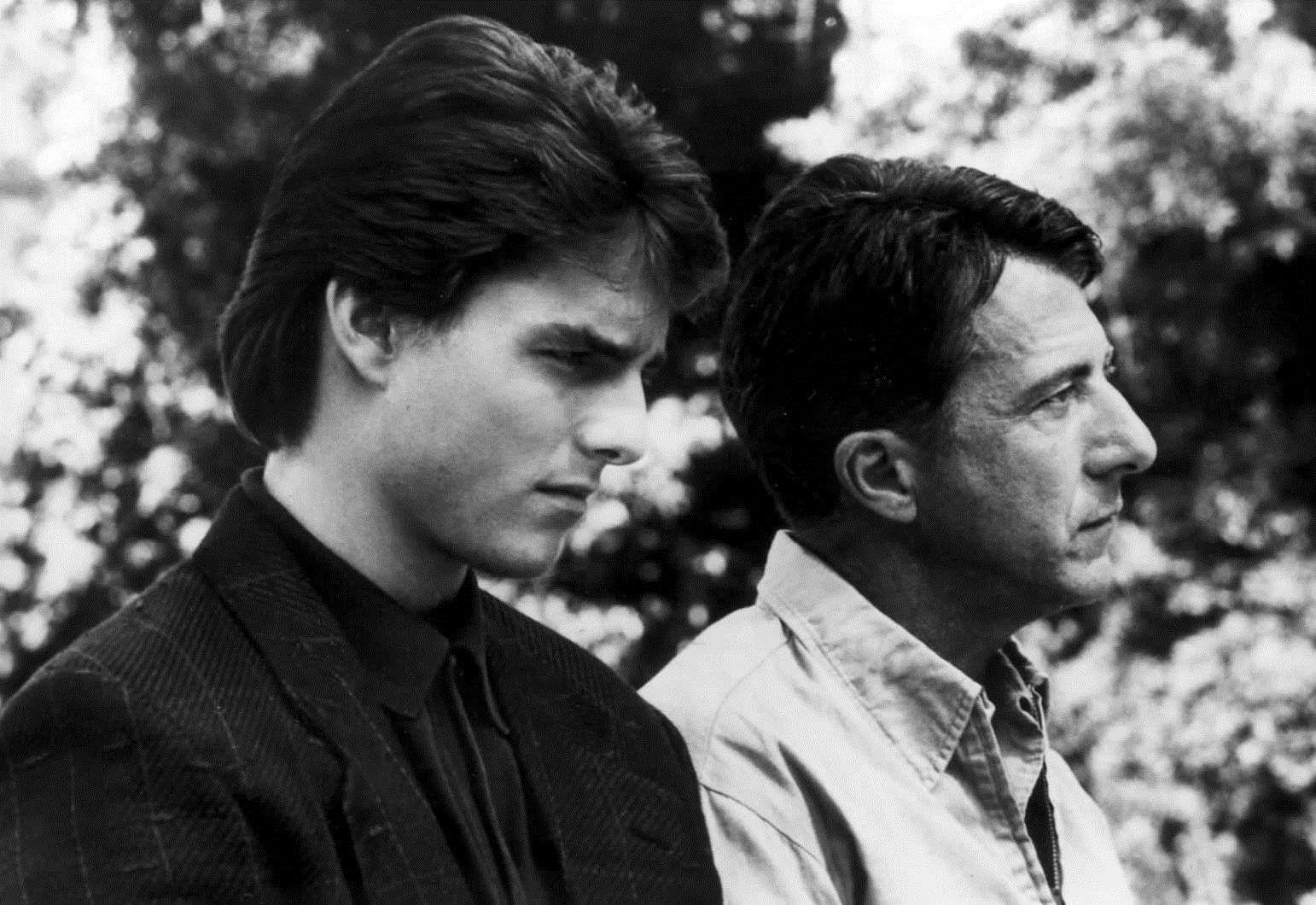 Were you born the year Dustin Hoffman (right) played Raymond Babbitt and Tom Cruise(left) played Charlie Babbitt in Rain Man?