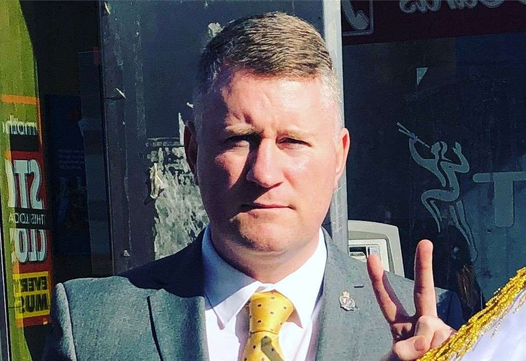 Britain First leader Paul Golding. Picture: Britain First Facebook