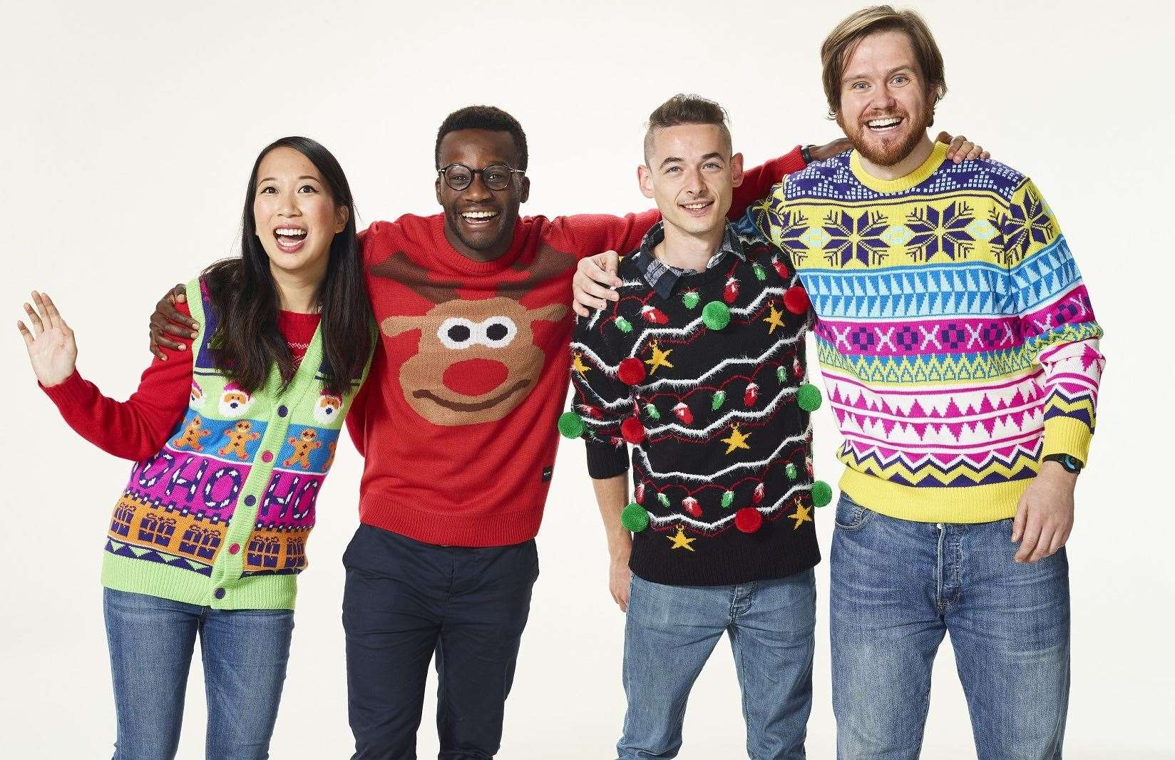 Christmas Jumper Day is taking place on Friday, December 13