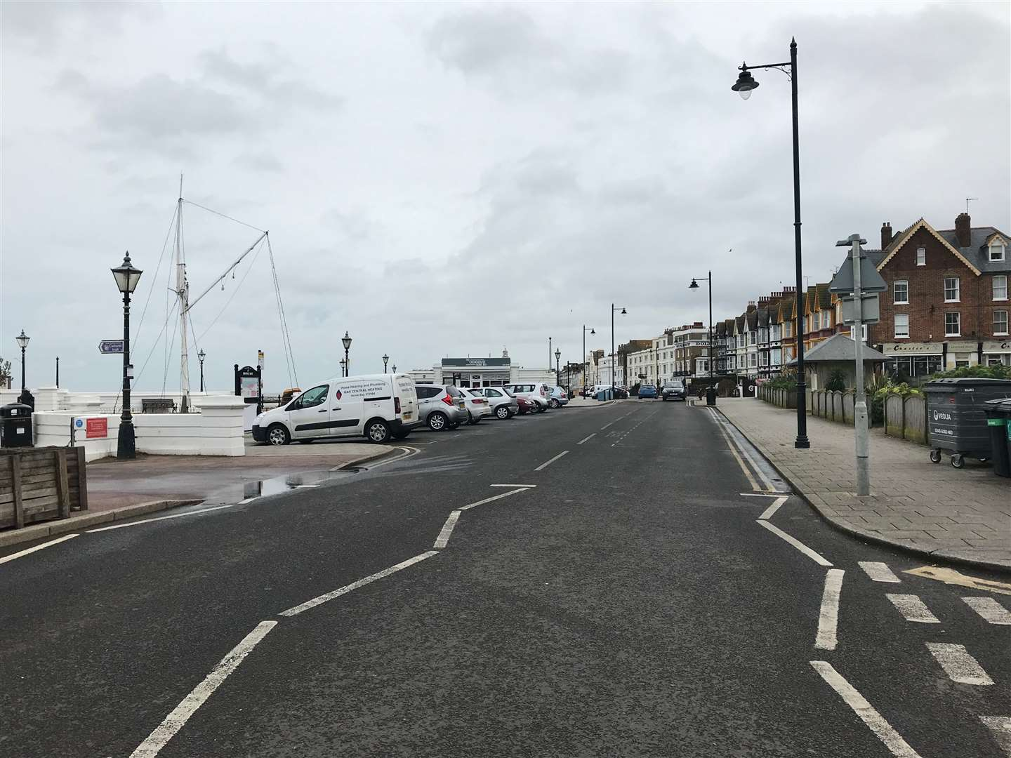 The seafront stretch between Station Road and Pier Avenue could be pedestrianised