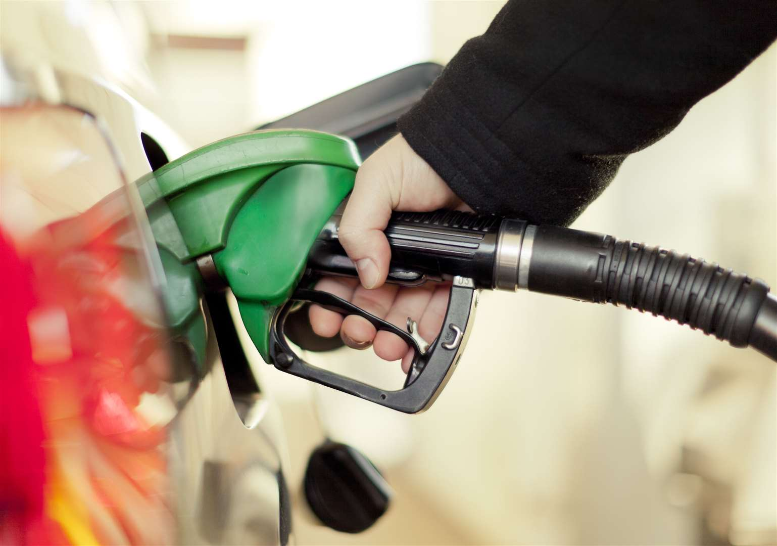 Gas pumps have closed at a Lenham gas station due to an industry-wide shortage of drivers Photo: Getty Images, Gremlin