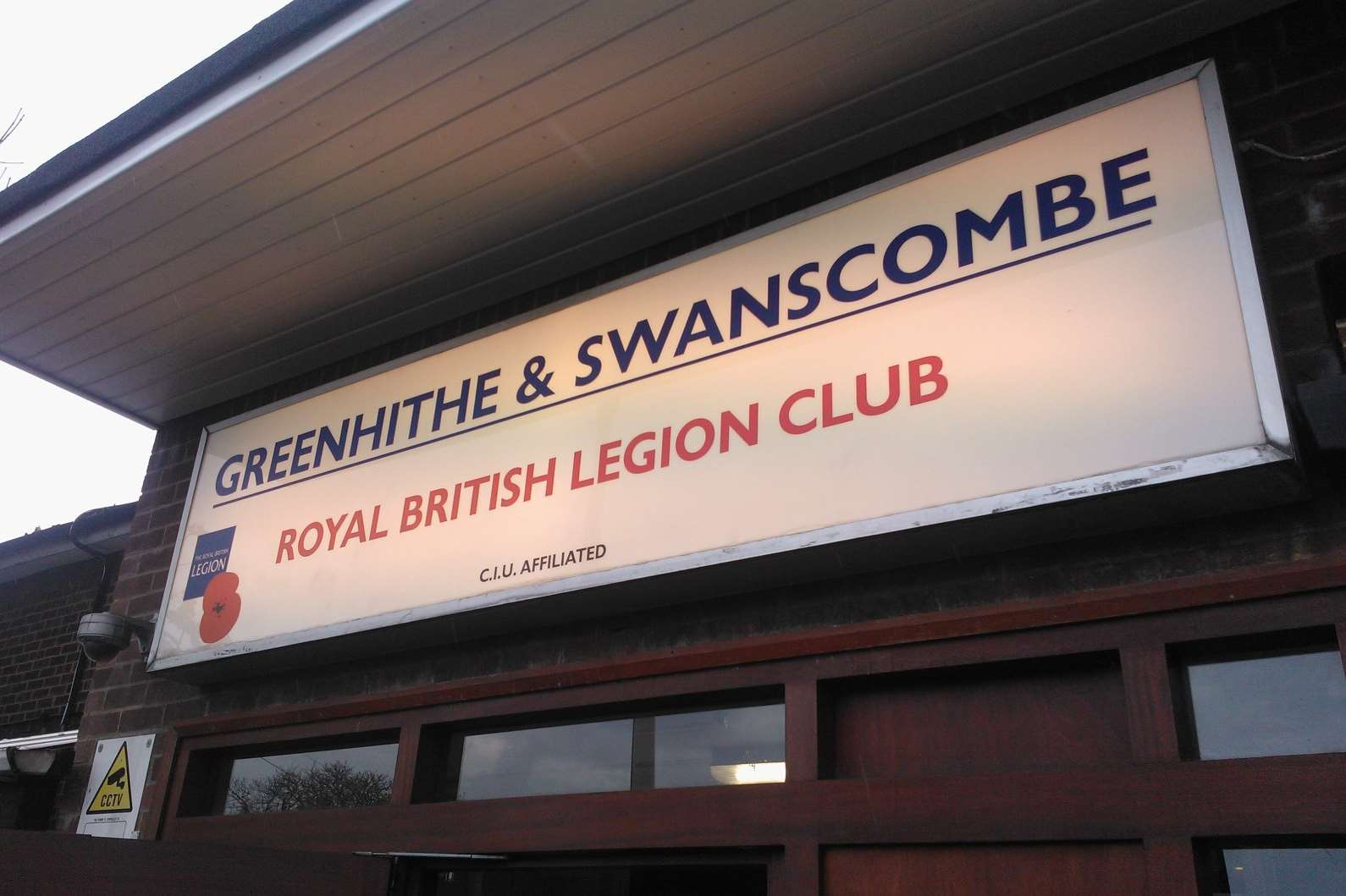 The first of the second round of London Paramount exhibitions was held here, at Greenhithe and Swanscombe Royal British Legion Club