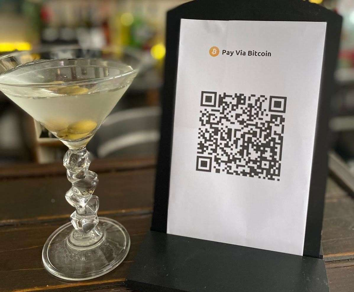 Soiree cocktail bar in Faversham is now accepting payment in cryptocurrency. Picture: Oliver Branson-Cole